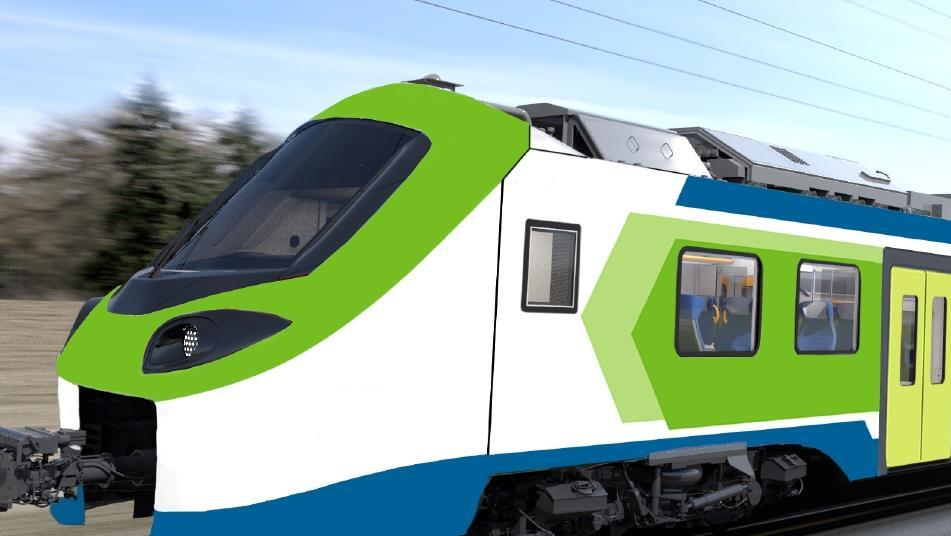 Italian operator orders hydrogen fuel cell trains