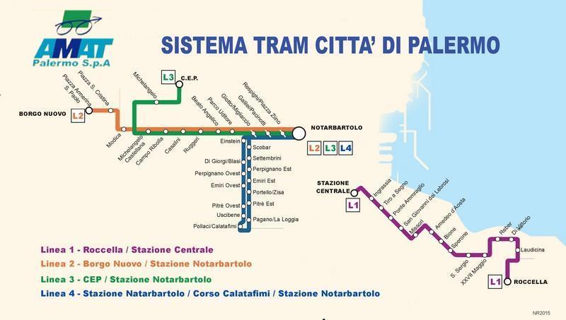 Palermo Tram Network Inaugurated