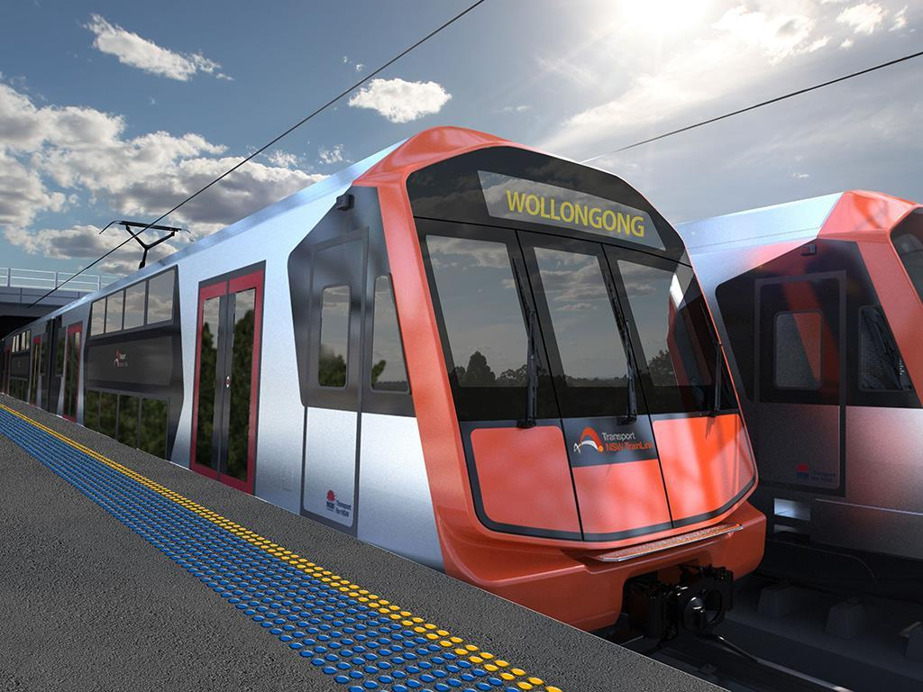 Rail, metro and tram spending in New South Wales budget