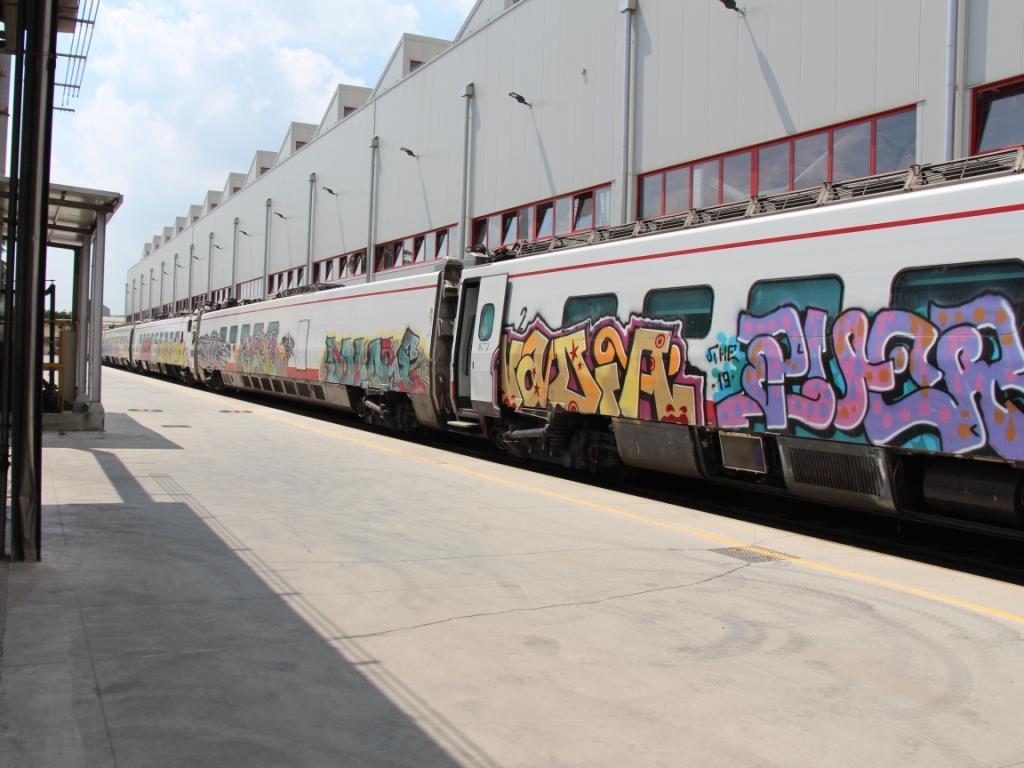 Cisalpino Pendolinos to work Athens – Thessaloniki line