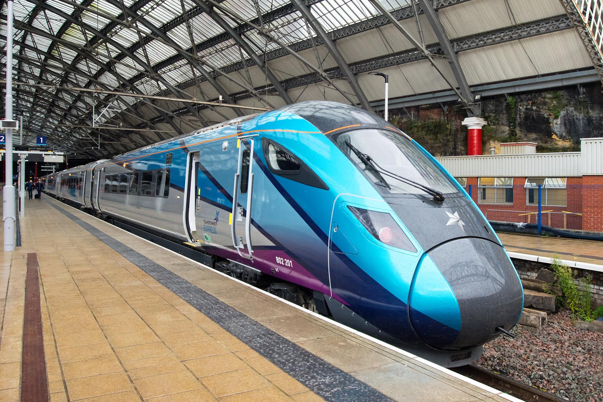 First Nova 1 trainset enters revenue service with TPE | Rail Business UK |  Railway Gazette International