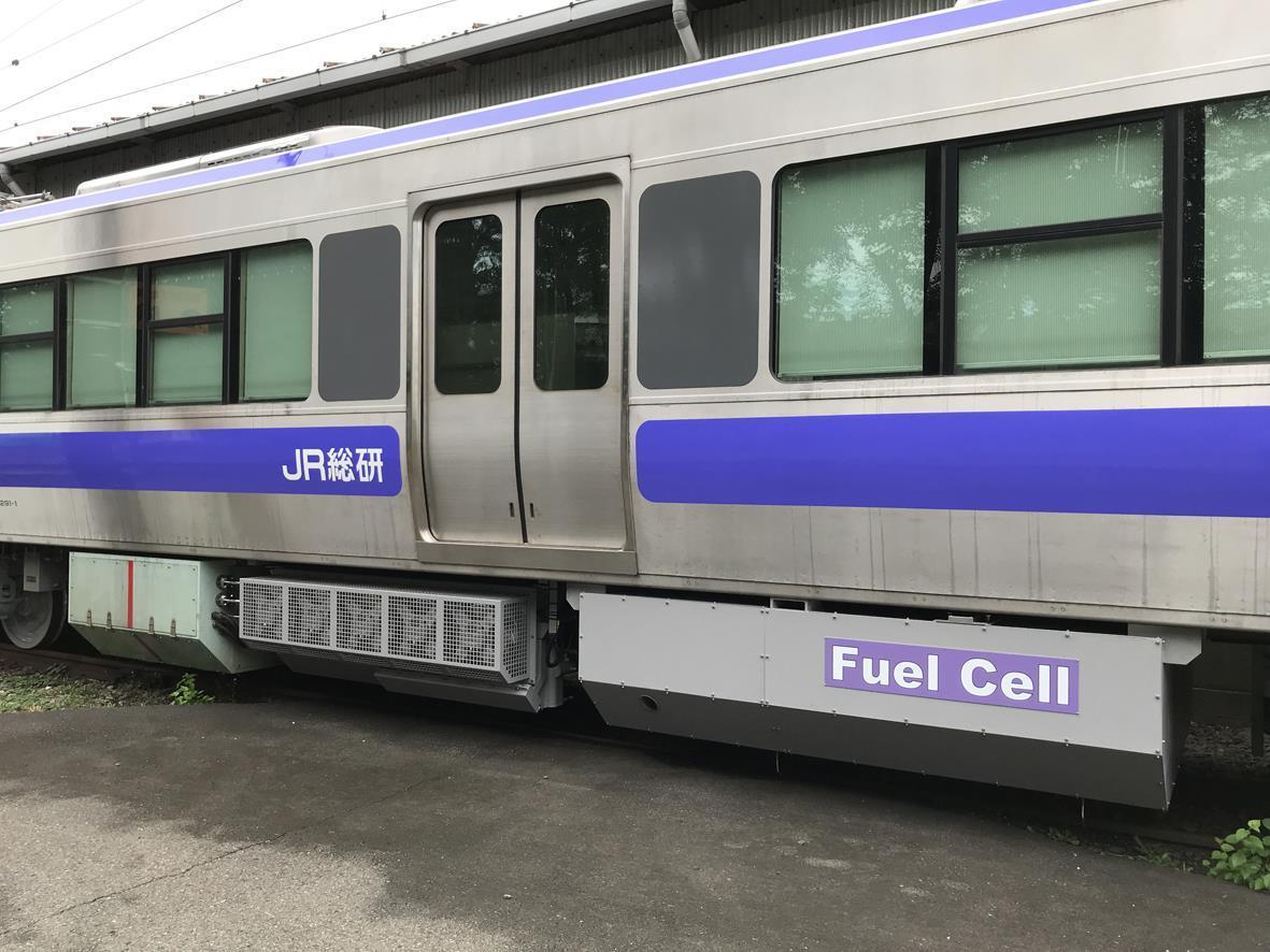 RTRI tests fuel cell multiple unit   News   Railway Gazette