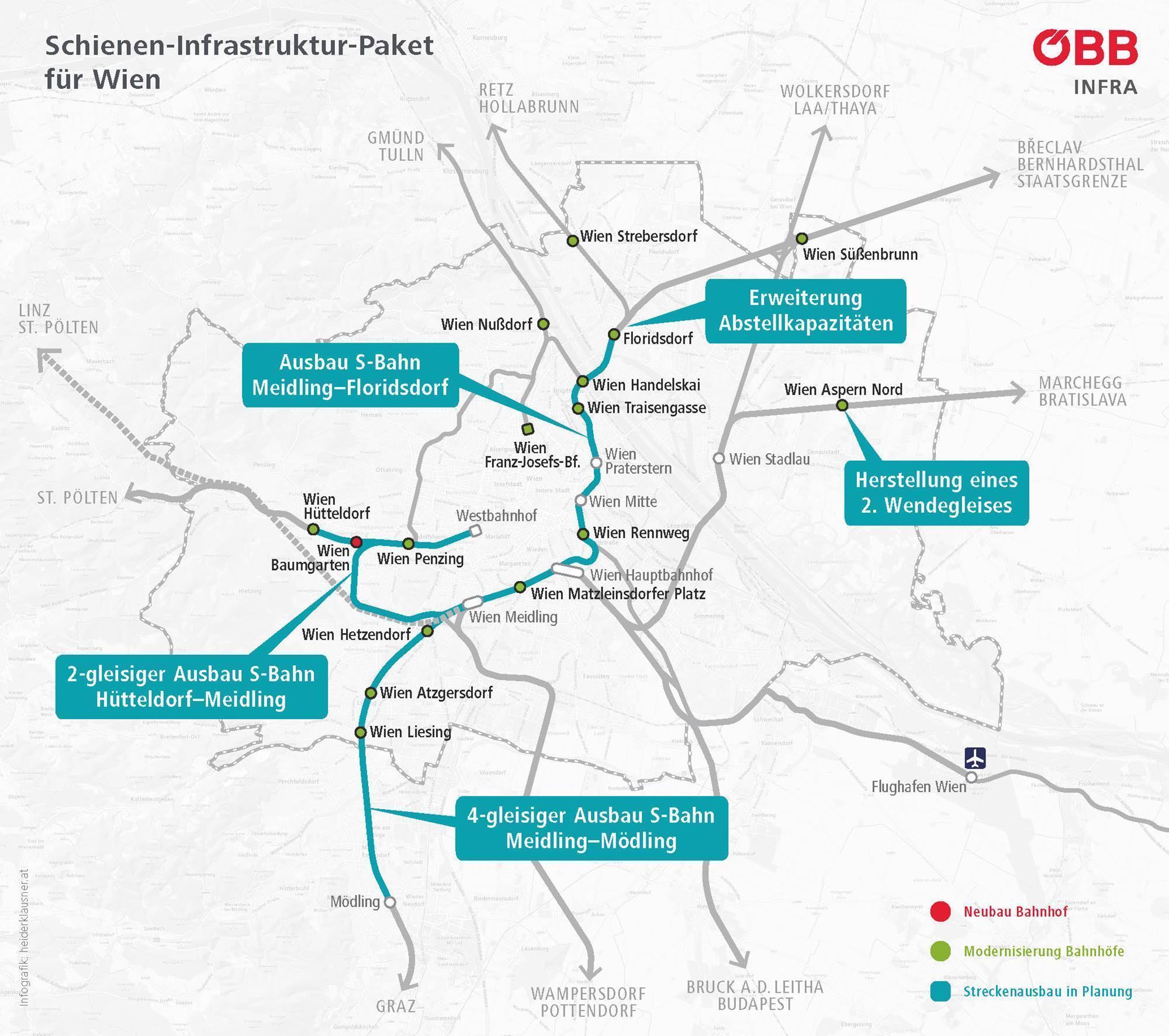 Wien agrees €2bn S-Bahn expansion package | Urban news | Railway Gazette  International