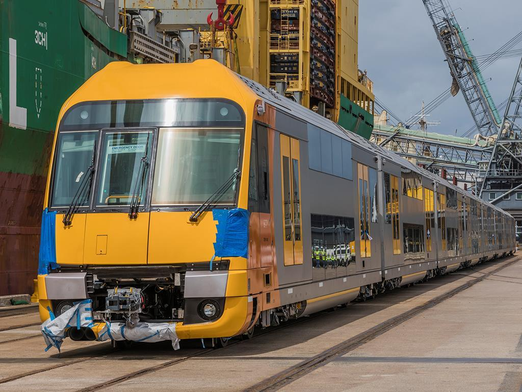 Waratah Series 2 EMU delivered | News | Railway Gazette