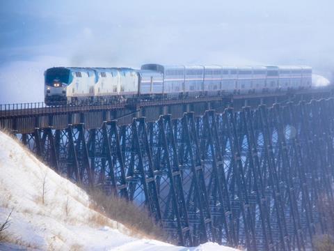 Amtrak's Chicago - Seattle 'Empire Builder'