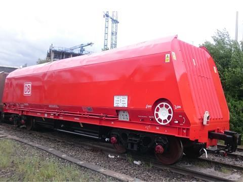 Coal wagons converted to carry aggregates | News | Railway