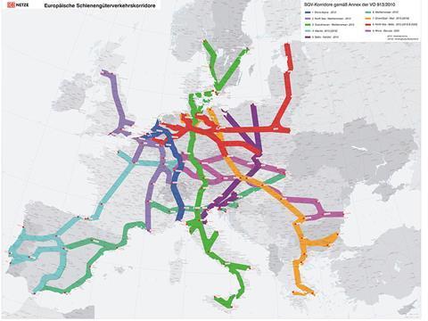 Three EU Rail Freight Corridors launched | News | Railway ...